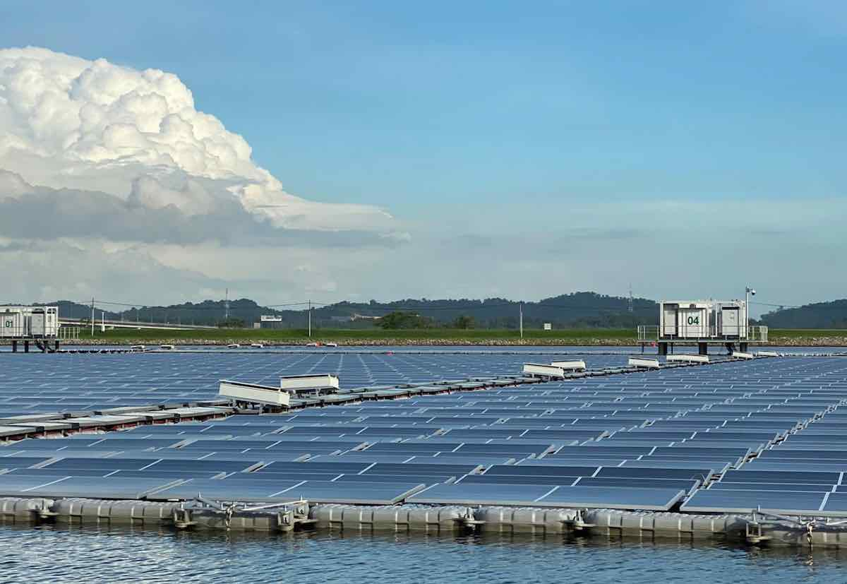 Singapore floating solar project